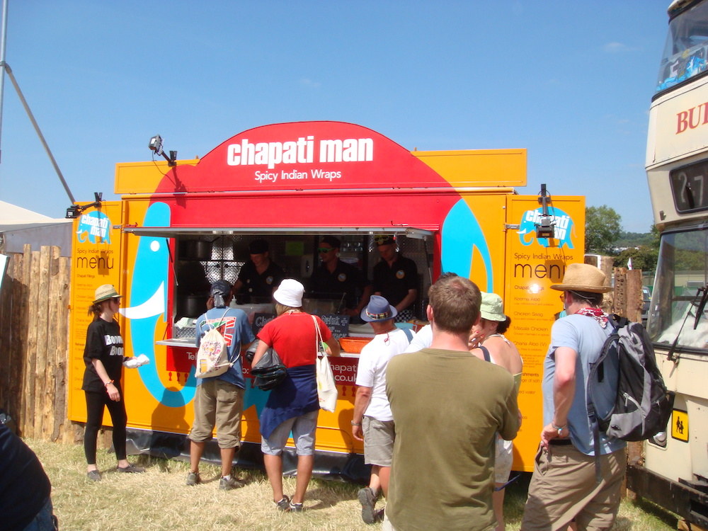 Chapati Man – Glastonbury